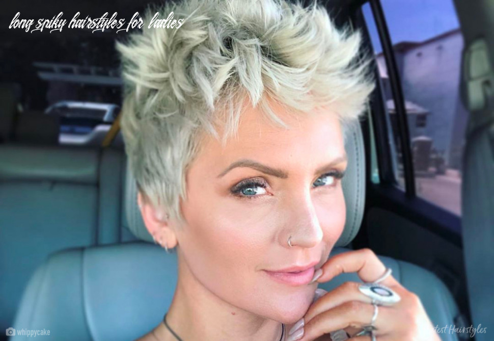 12 boldest short spiky hair ideas for women long spiky hairstyles for ladies