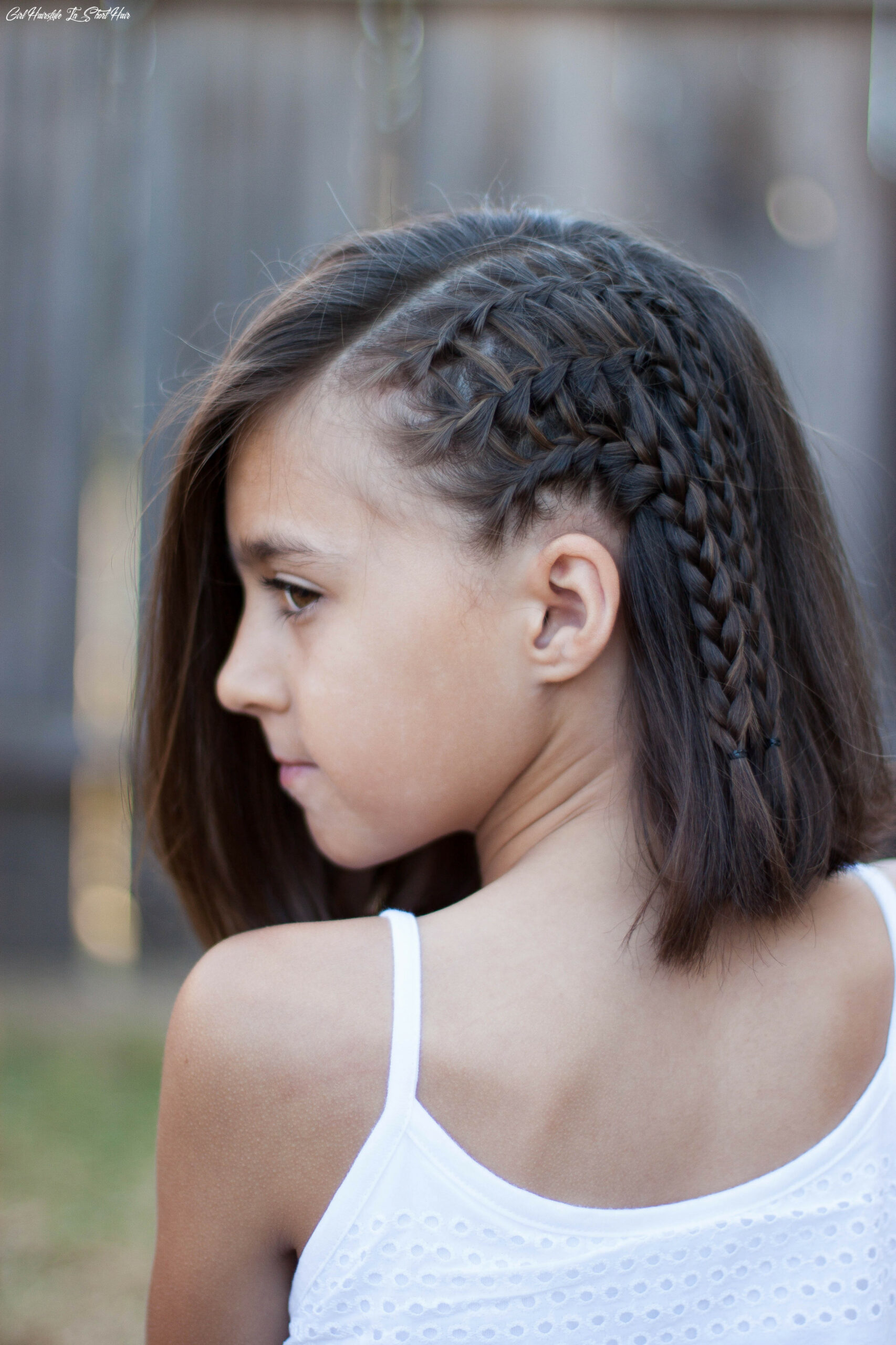 12 braids for short hair cute girls hairstyles girl hairstyle in short hair