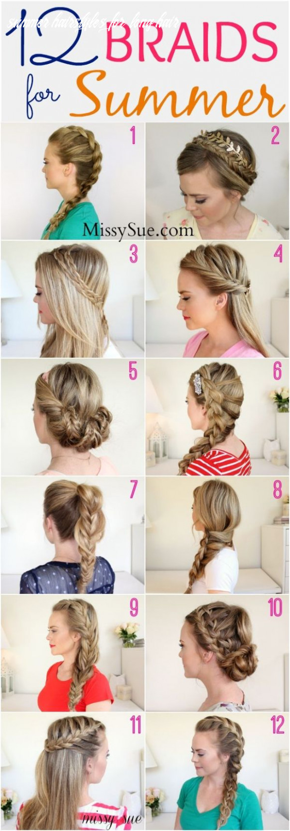 12 braids for summer beat the heat and look cute with these