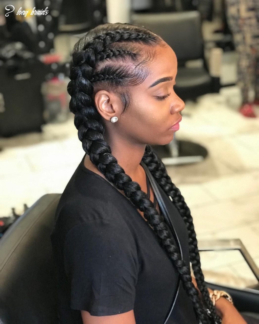 12 braids with a twist #tossed #tossedtresses #tossedbyteyanna