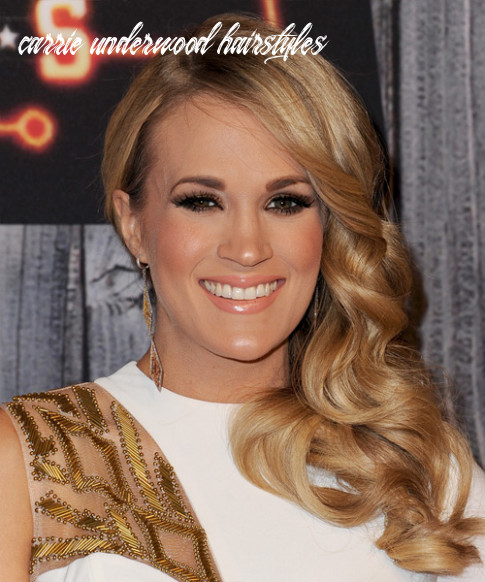 12 carrie underwood hairstyles, hair cuts and colors carrie underwood hairstyles