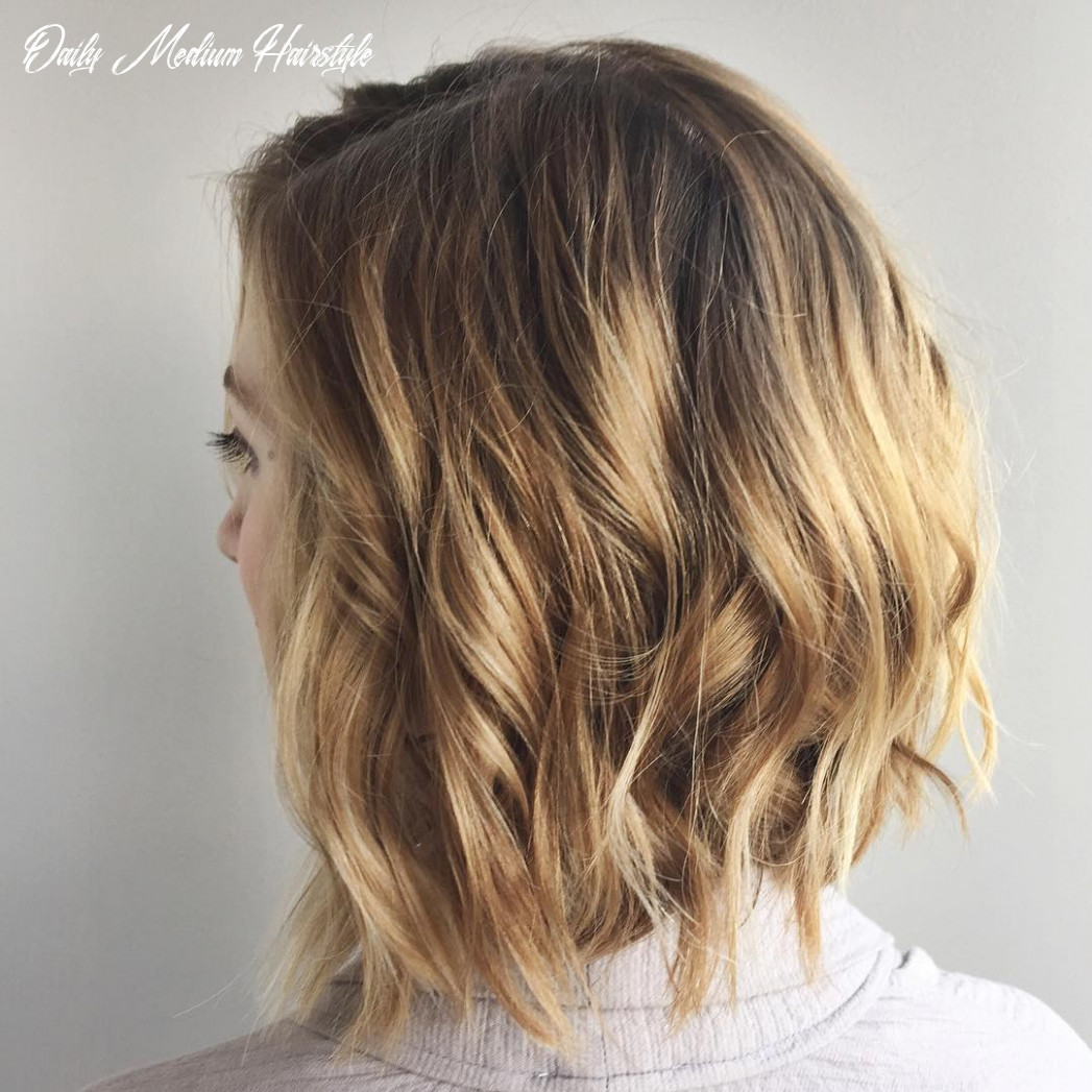12 chic everyday hairstyles for shoulder length hair 12 daily medium hairstyle