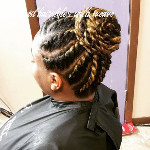 12 chic twist hairstyles for natural hair flat twist hairstyles with weave