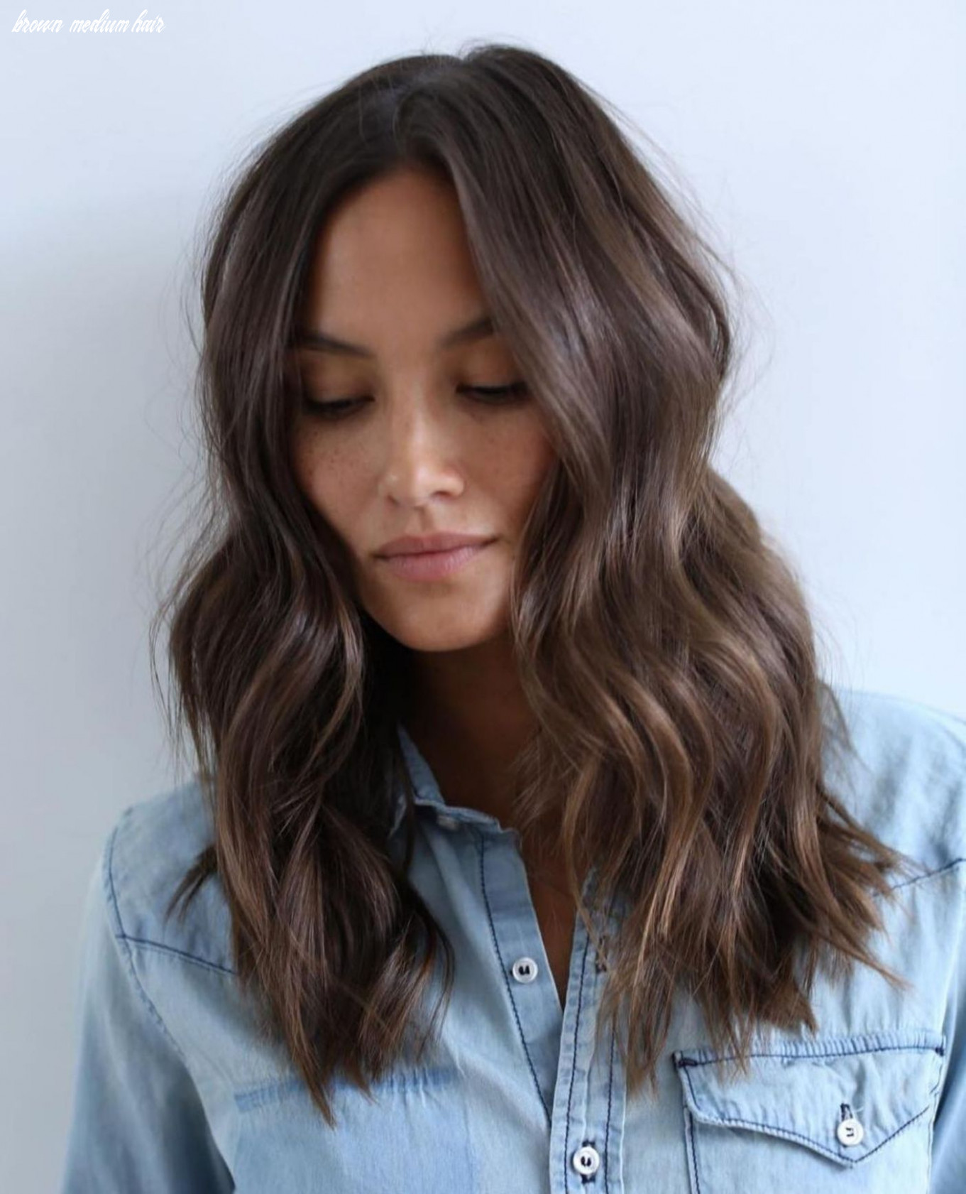 12 chocolate brown hair color ideas for brunettes   long hair