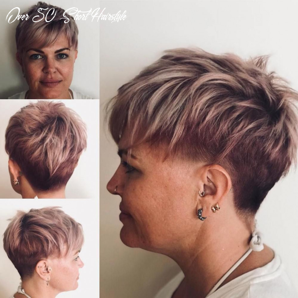 12 classy and simple short hairstyles for women over 12 | short