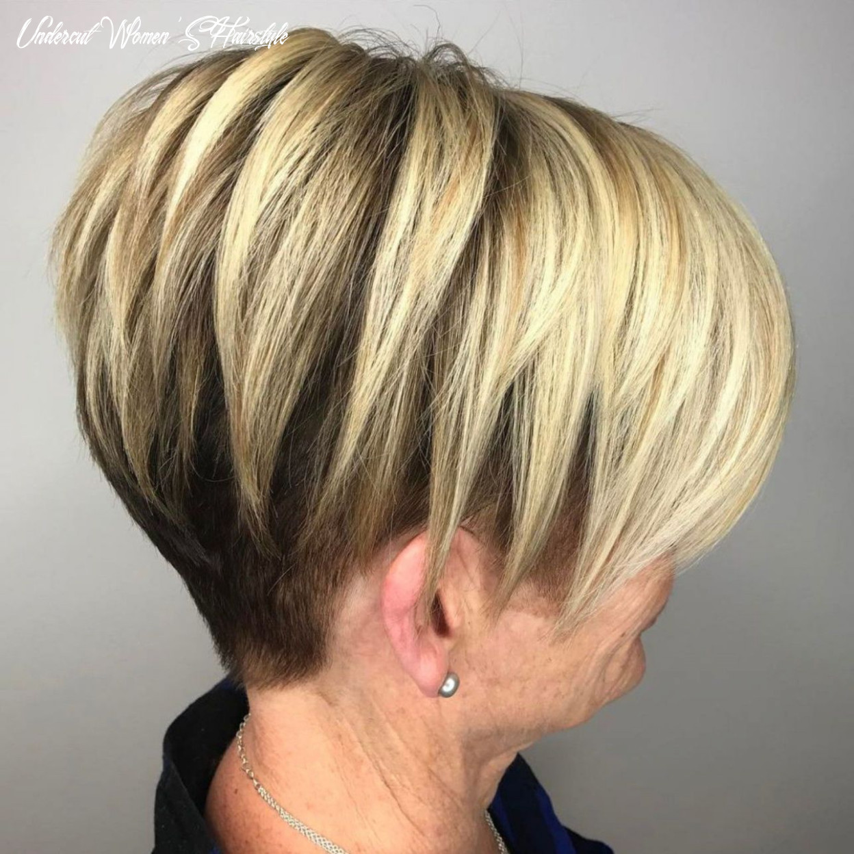 12 classy and simple short hairstyles for women over 12 | undercut