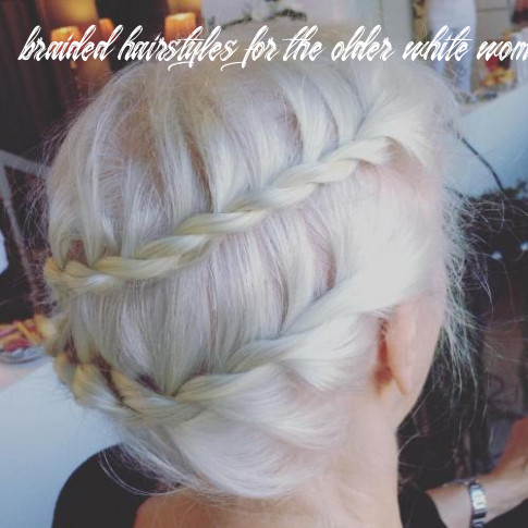 12 contemporary and stylish long hairstyles for older women braided hairstyles for the older white woman