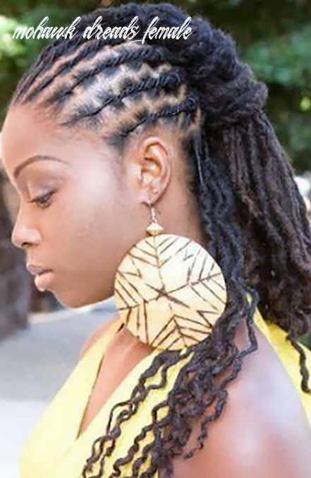 12 cool dreadlock hairstyles for women the trend spotter mohawk dreads female