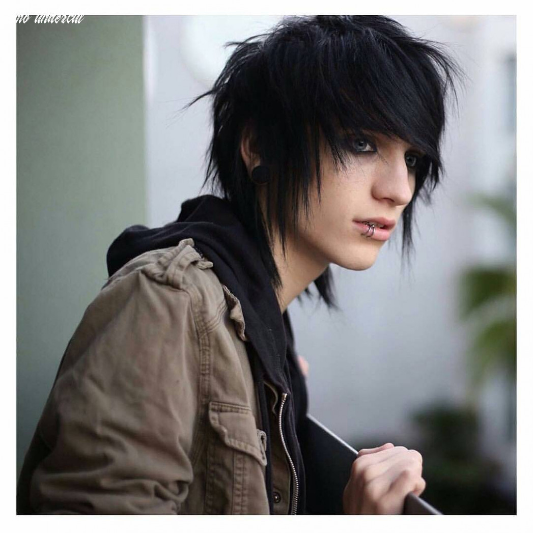 12 cool emo hairstyles for guys creative ideas emo undercut