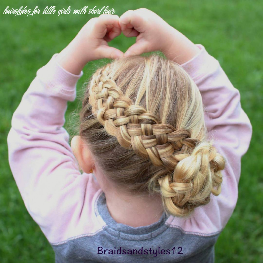 12 cool hairstyles for little girls on any occasion hairstyles for little girls with short hair