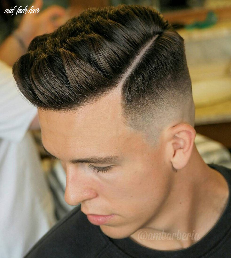 12 cool mid fade haircut styles to try right now | fade haircut