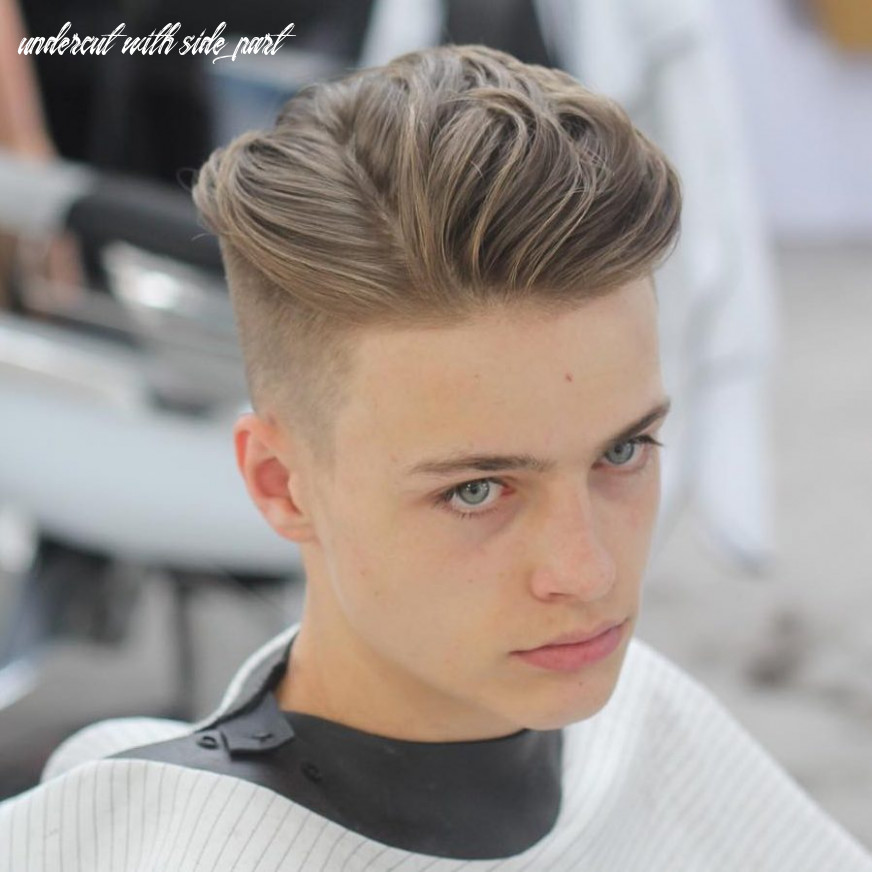 12 cool side part hairstyles for men: 12 styles undercut with side part