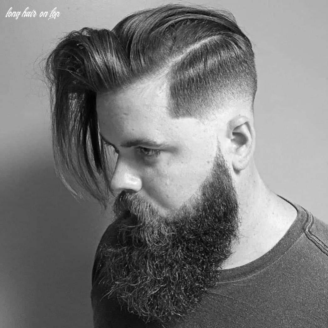 12 creative short on sides long on top haircuts [12 ideas] long hair on top