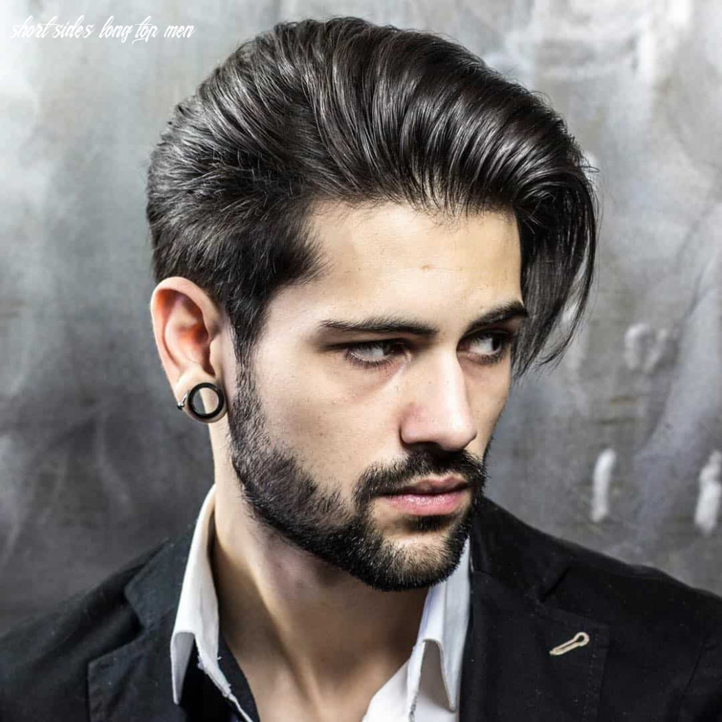 12 Creative Short On Sides Long On Top Haircuts-[12 Ideas]