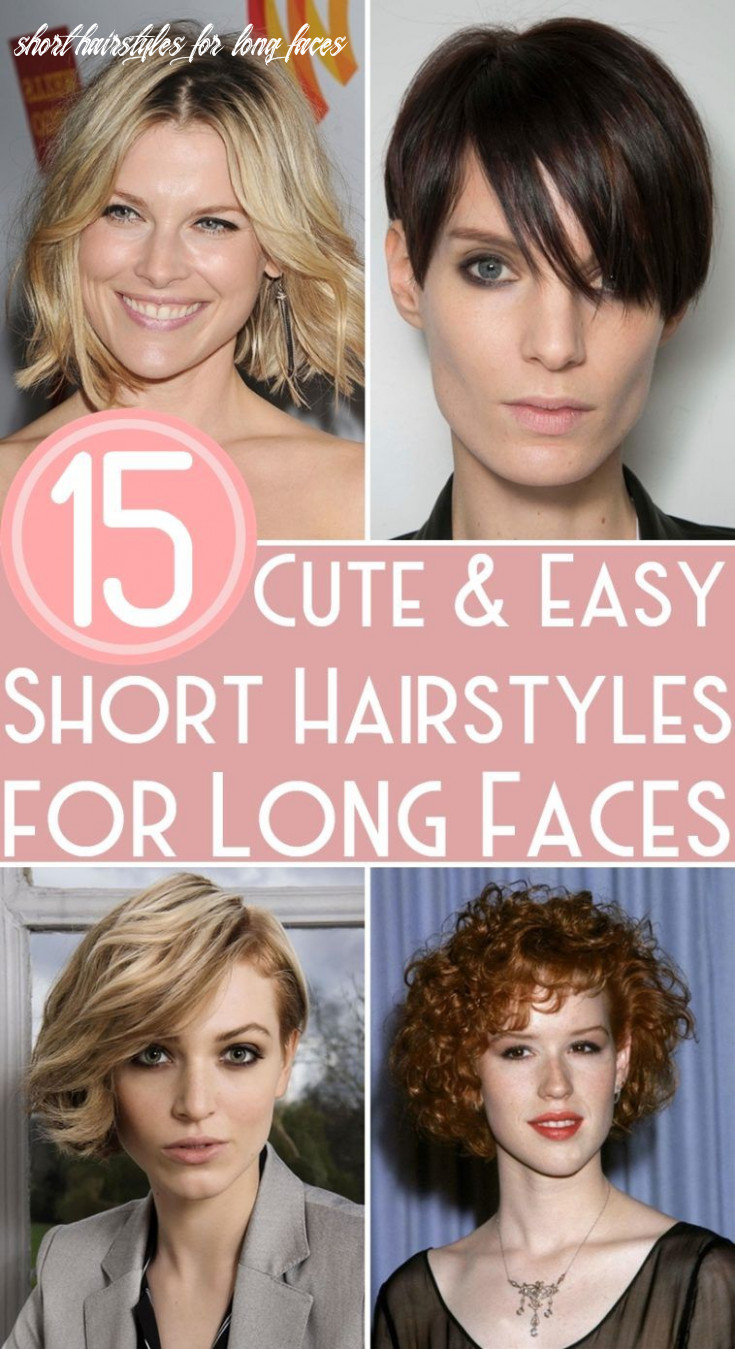 12 cute & easy short hairstyles for long faces | short hair styles
