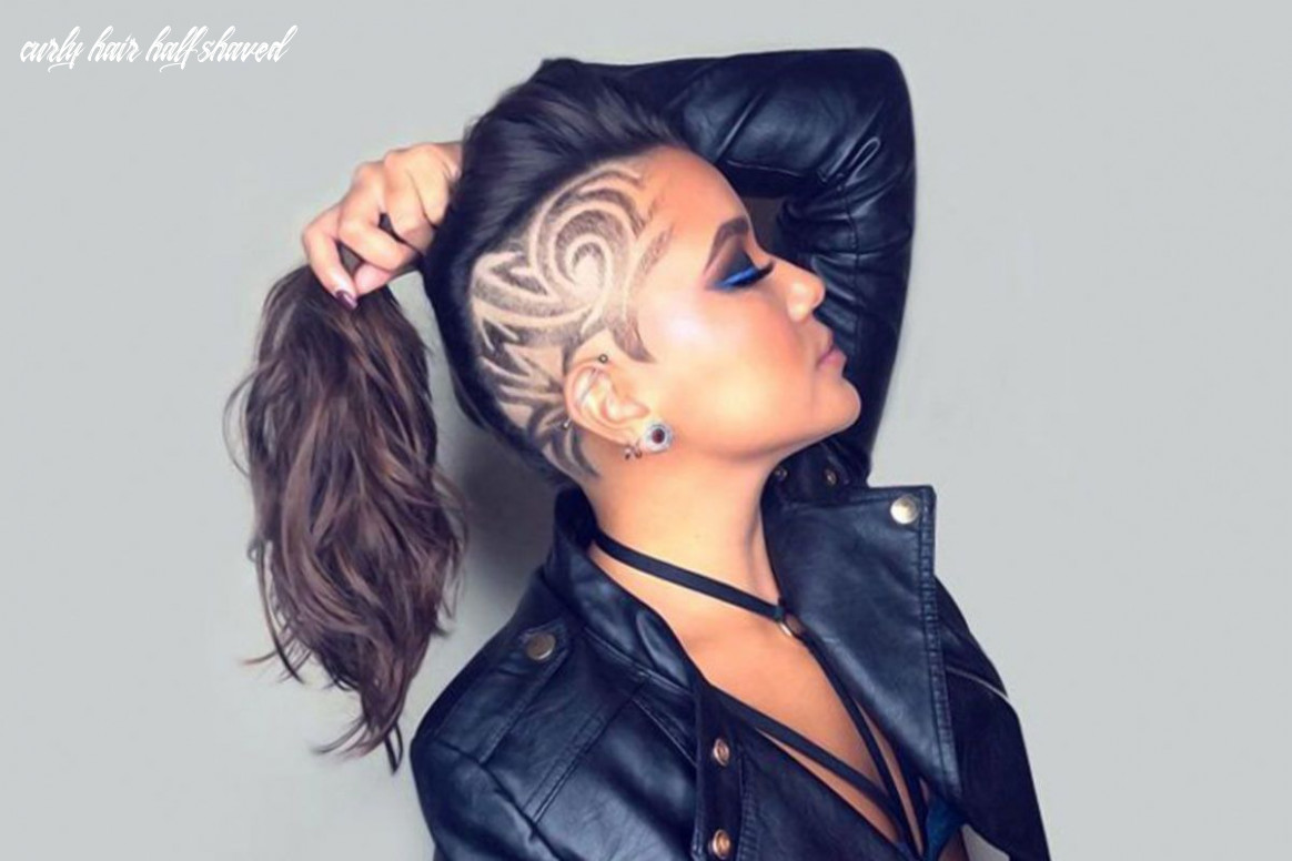 12 Cute & Rebellious Half Shaved Head Hairstyles For Modern Girls