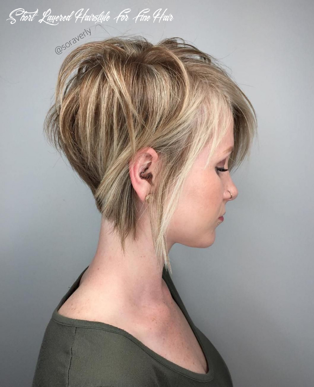 12 cute and easy to style short layered hairstyles | cheveux