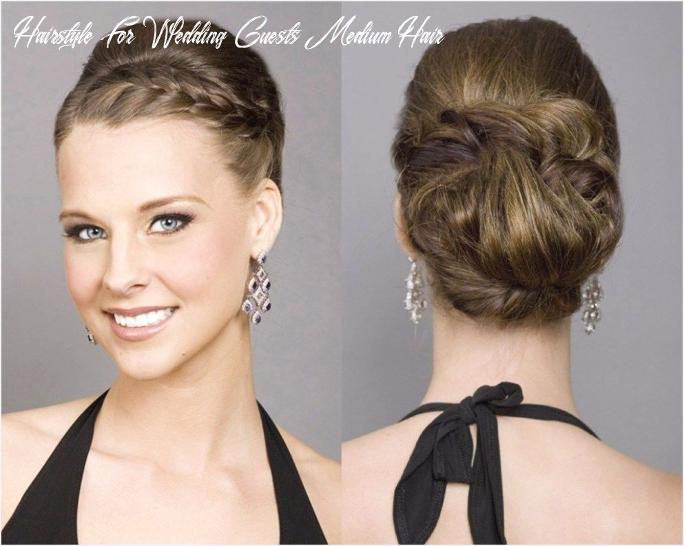 12 cute hairstyles for wedding guests 12 wedding hairstyles for