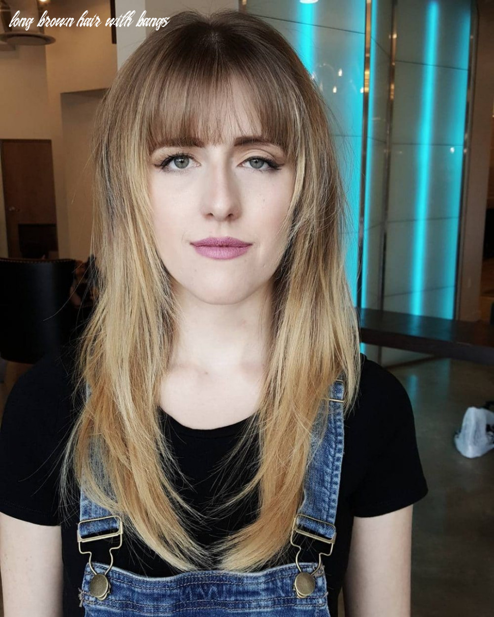12 Cute Long Hair With Bangs Hairstyles (12 Trends)
