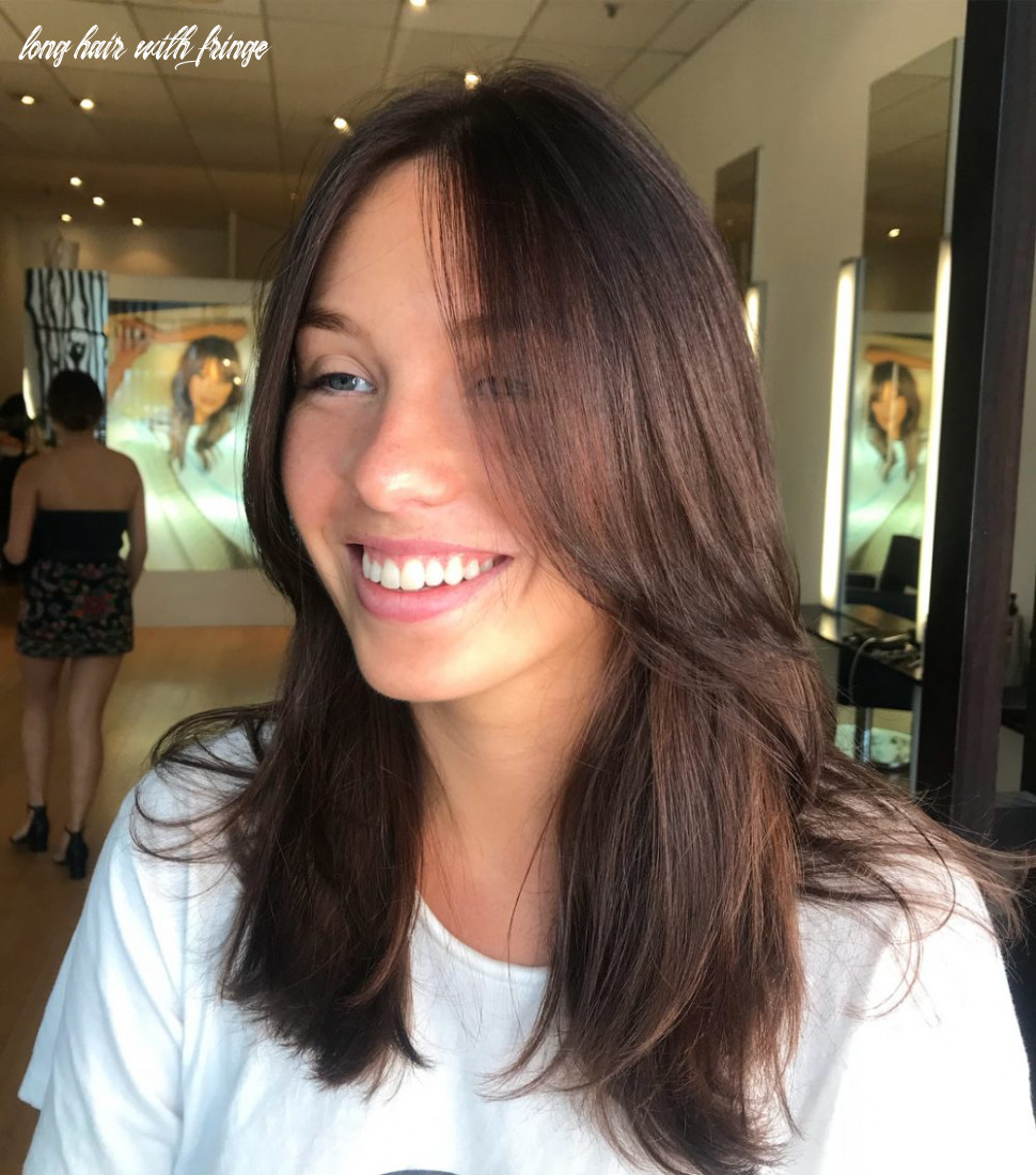 12 cute long hair with bangs hairstyles (12 trends) long hair with fringe