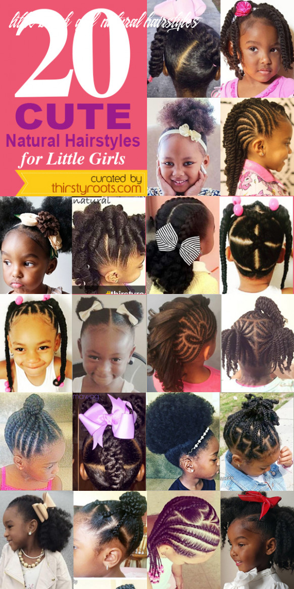 12 Cute Natural Hairstyles for Little Girls