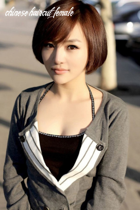 12 cute short haircuts for asian girls 12 chic short asian