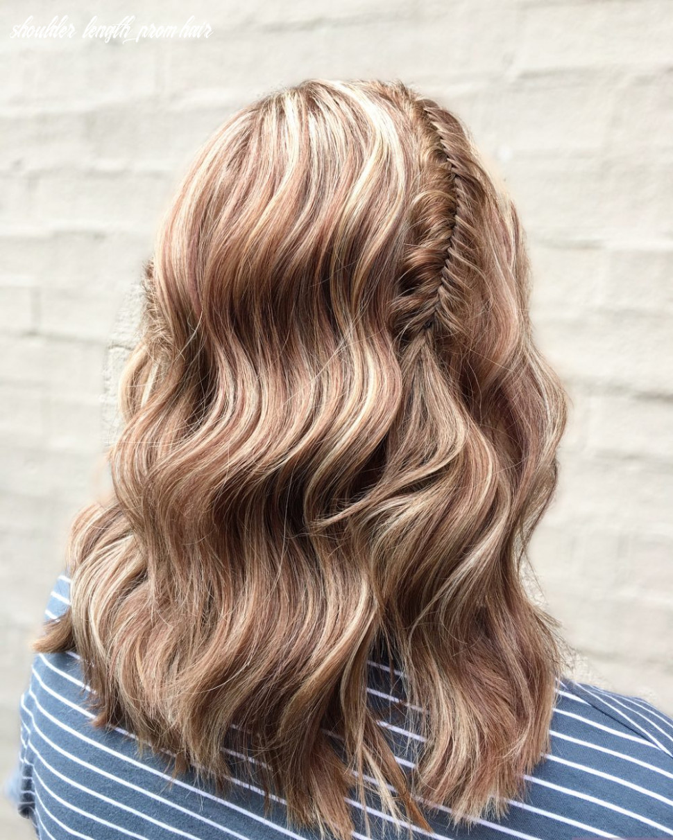12 cutest prom hairstyles for medium length hair for 12 shoulder length prom hair