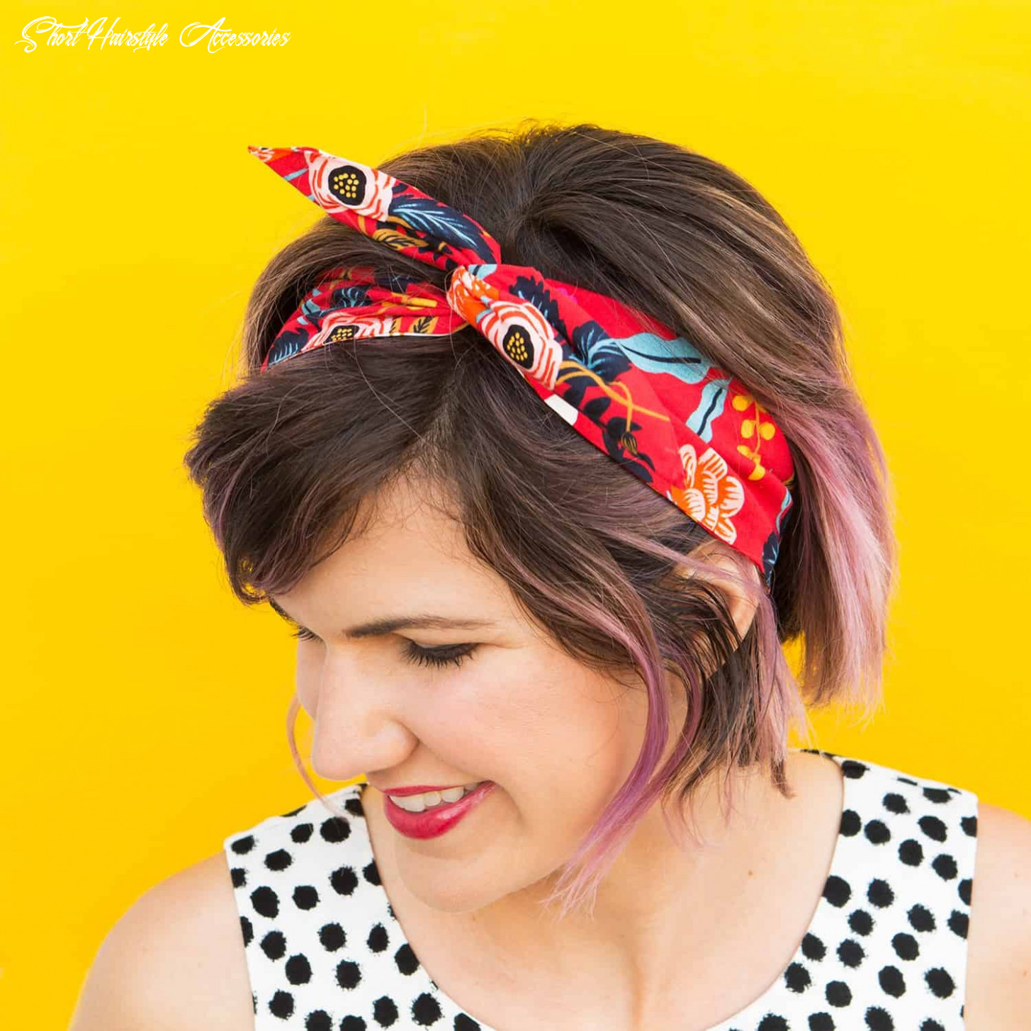 12 diy accessories that look great with short hair short hairstyle accessories