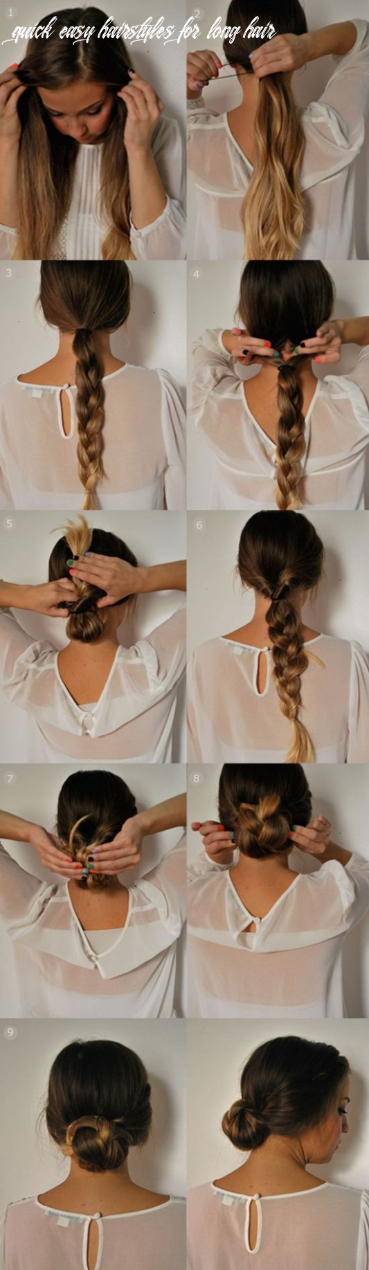 12 easy 12 minutes hairstyles for women hairstyles weekly quick easy hairstyles for long hair