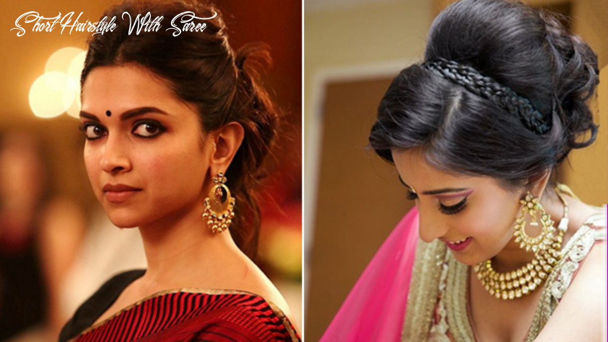 12 Easy And Fashionable Hairstyles For Sarees