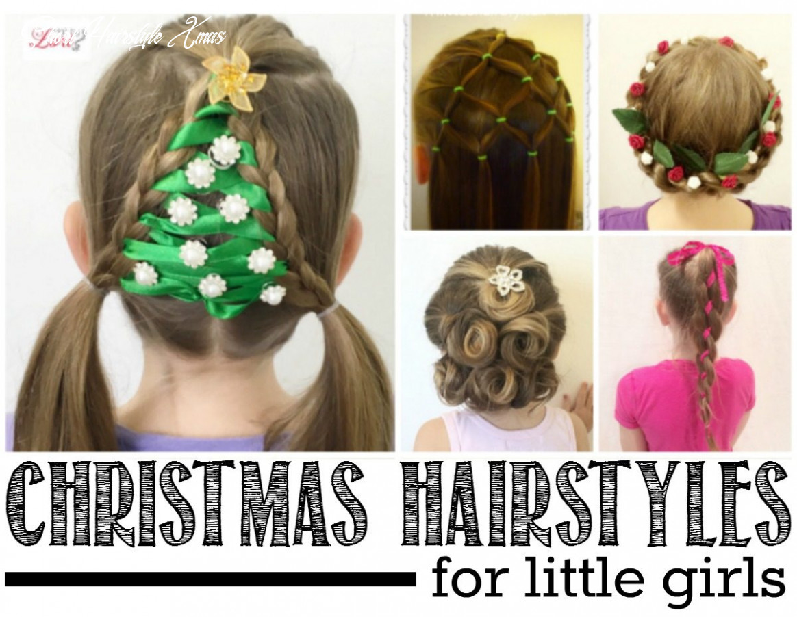 12 easy christmas hairstyles for little girls short hairstyle xmas