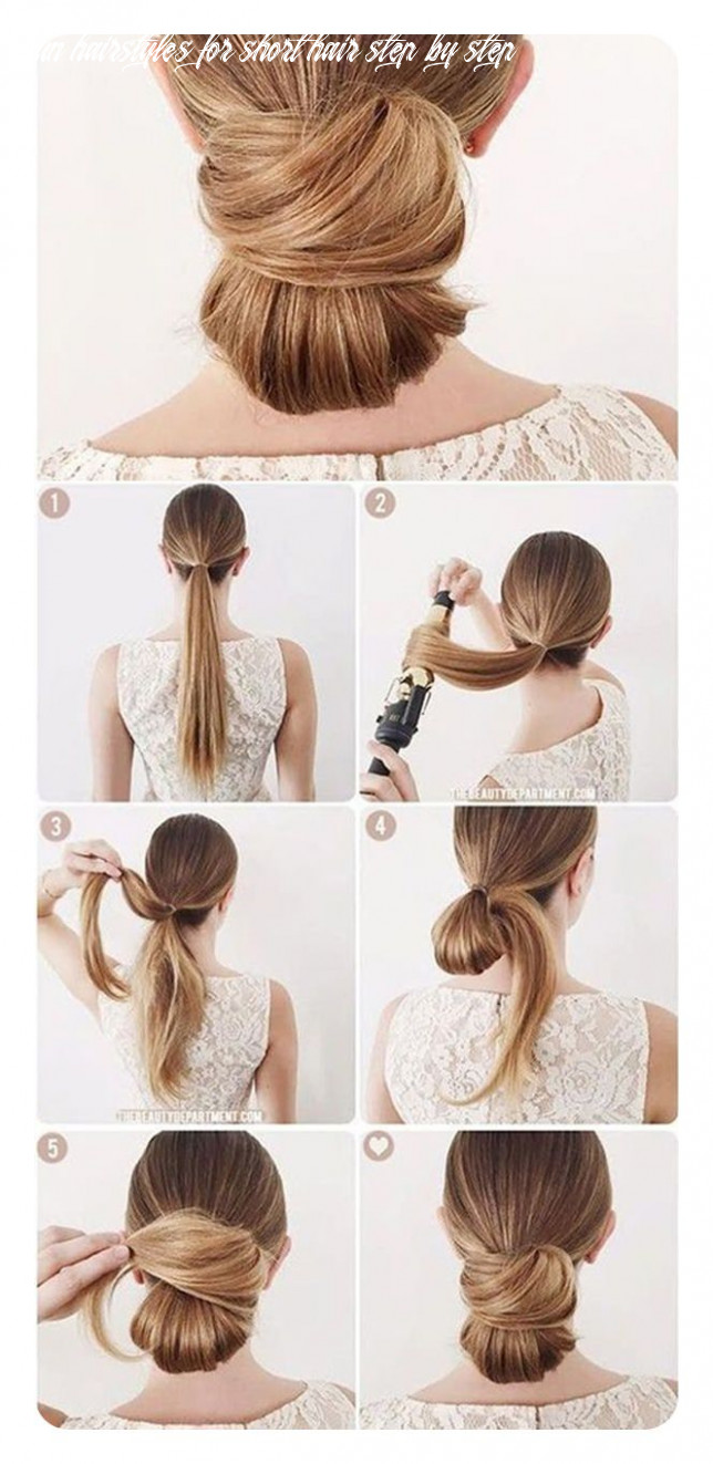 12 easy low bun hairstyles and their step by step tutorials