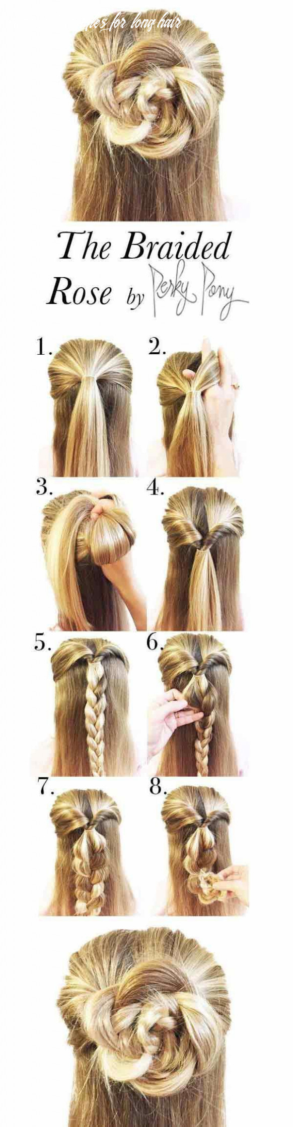 12 easy summer hairstyle tutorials for long hair | style & beauty summer hairstyles for long hair