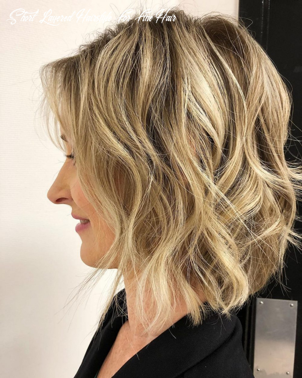 12 easy to manage short hairstyles for fine hair short layered hairstyle for fine hair