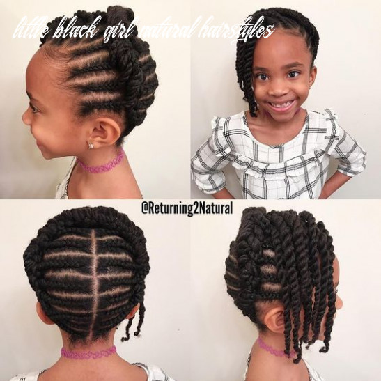 12 easy winter protective natural hairstyles for kids | natural