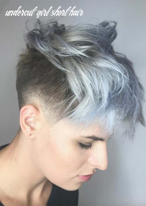 12 edgy and rad short undercut hairstyles for women glowsly undercut girl short hair