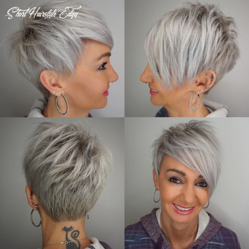 12 edgy pixie haircuts for women, best short hairstyles 12