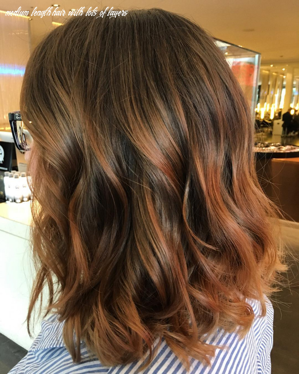 12 exciting medium length layered haircuts in fab new colors