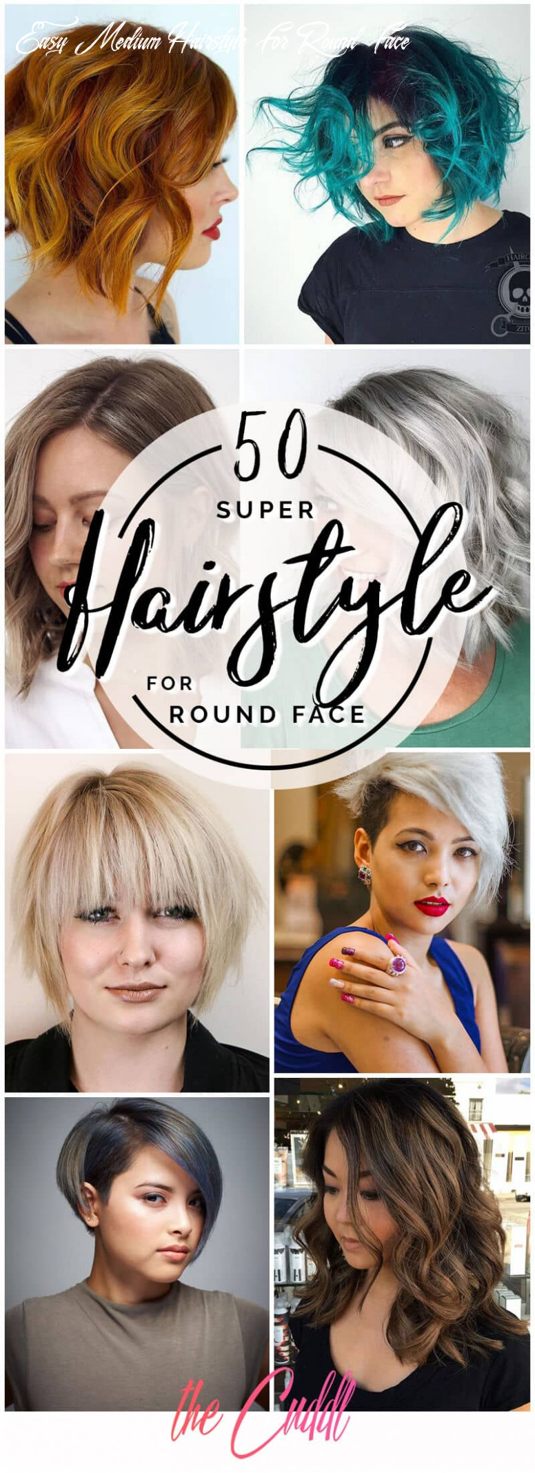 12 fabulous hairstyles for round faces to upgrade your style in 12 easy medium hairstyle for round face