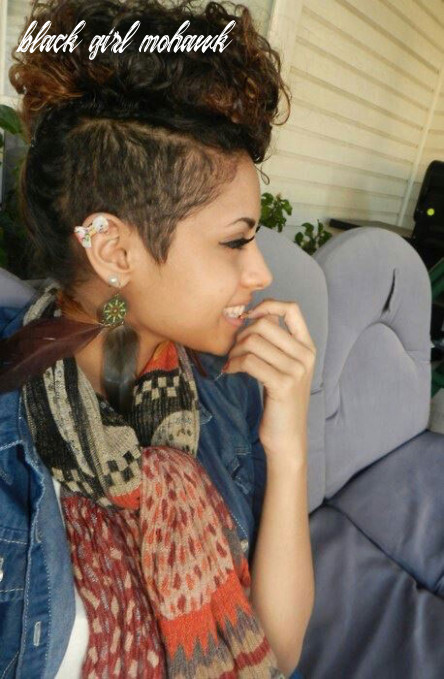 12 fashionable mohawk hairstyles for black women [12 updated] black girl mohawk
