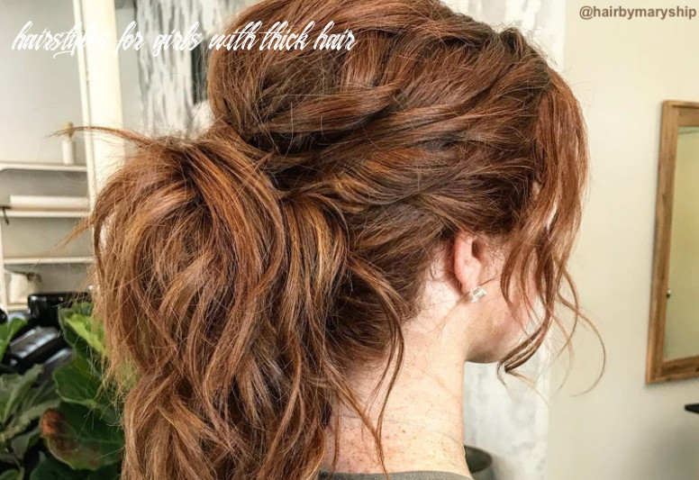 12 flattering haircuts for thick hair for 12 hairstyles for girls with thick hair