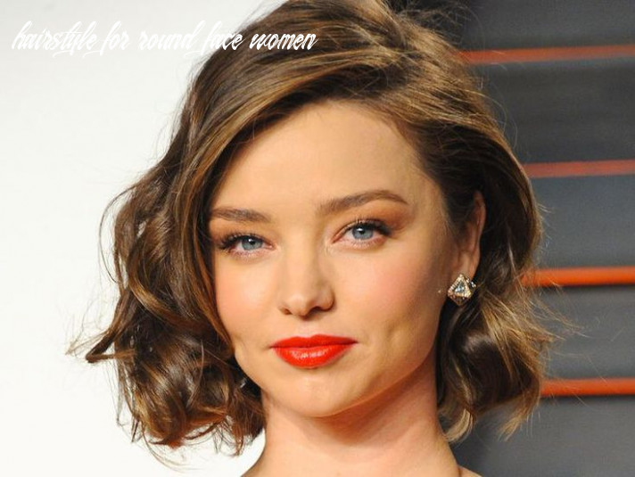 12 flattering hairstyles for round faces hairstyle for round face women