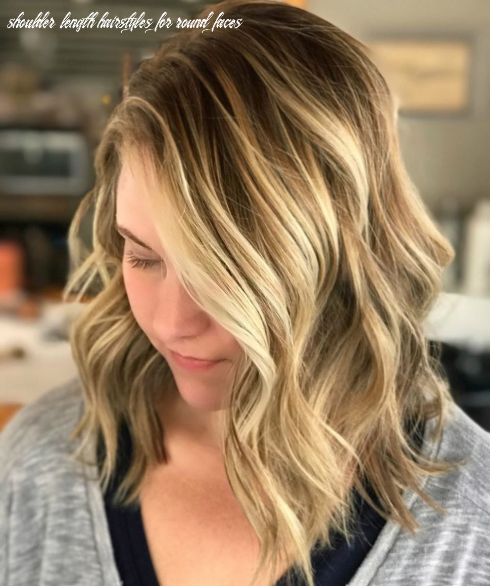 12 flattering medium hairstyles for round faces in 12 shoulder length hairstyles for round faces