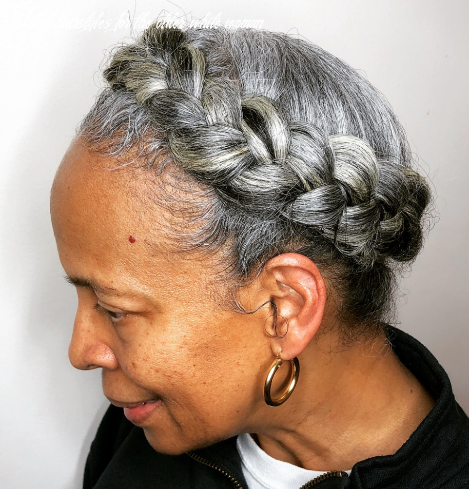 12 glamorous grey hairstyles for older women haircuts