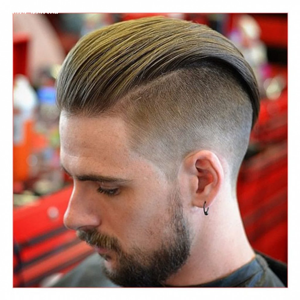 12 Gorgeous Hairstyle Undercut Slicked Back - Haircut Today