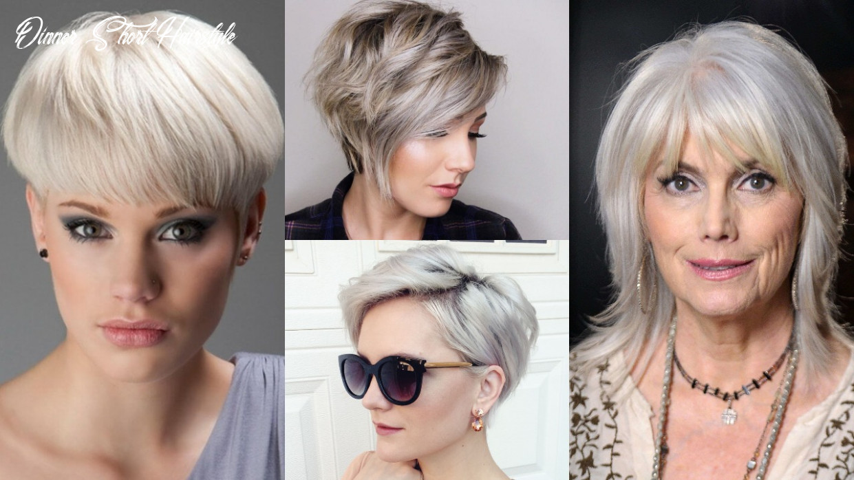 12 grey short hairstyles for women dinner short hairstyle