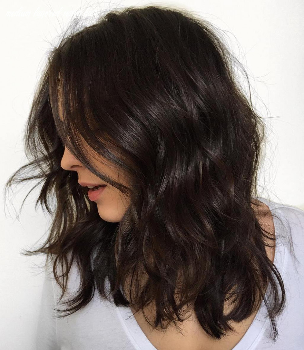 12 haircuts for thick wavy hair to shape and alleviate your