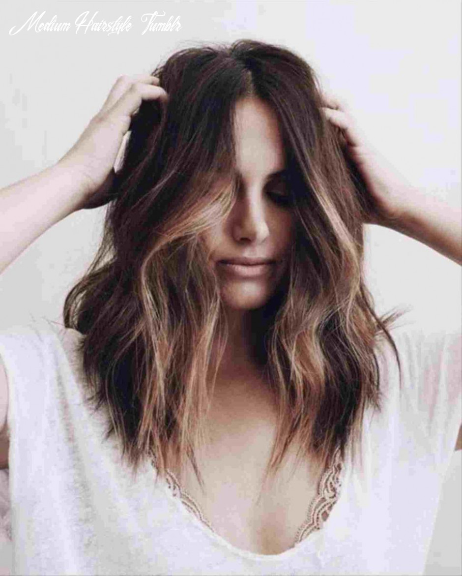 12 hairstyle for shoulder length wavy hair medium hairstyle tumblr
