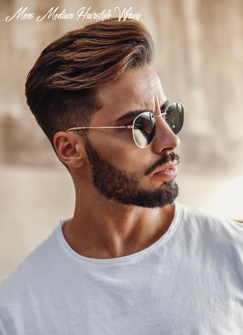 12 hairstyles for men with wavy hair mens medium hairstyle wavy
