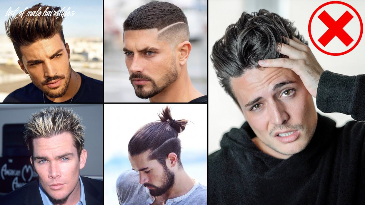 12 Hairstyles to DROP in 12 | Mens Hair 12